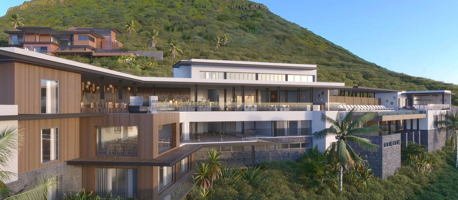 Legend Hill – Appartement Hôtel de luxe à Rivière Noire