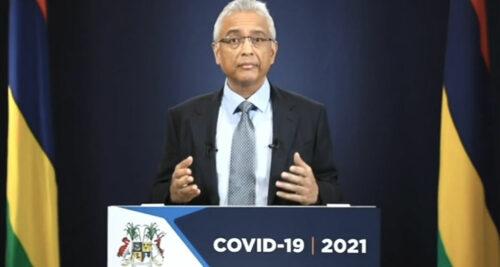 L'île Maurice assouplit ses mesures de restriction au 1er juillet 2021